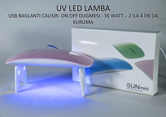 ULTRA VİYOLE LED LAMBA resmi